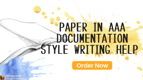 aaa style paper writing service