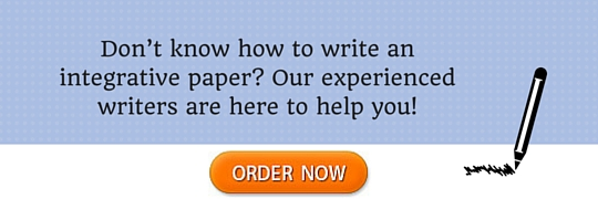how to write an integrative paper