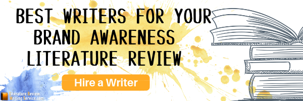 brand awareness review of literature help online