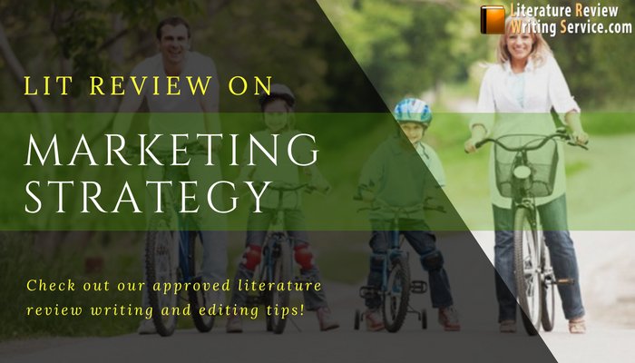 help with literature review on marketing strategy