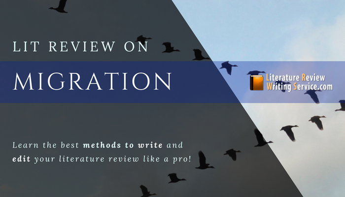 help with migration literature review