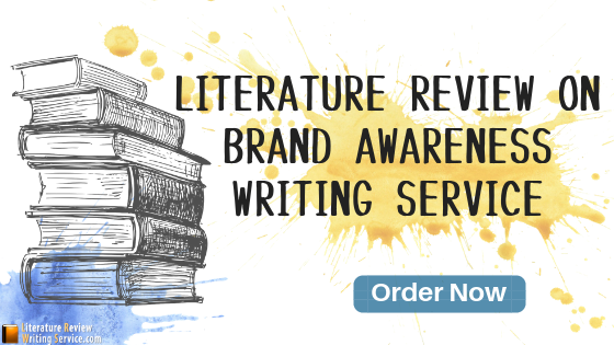 literature review on brand awareness online help