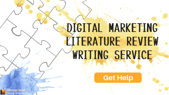literature review on marketing writing service