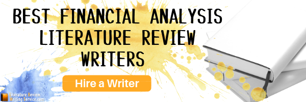 literature review on financial analysis writing help