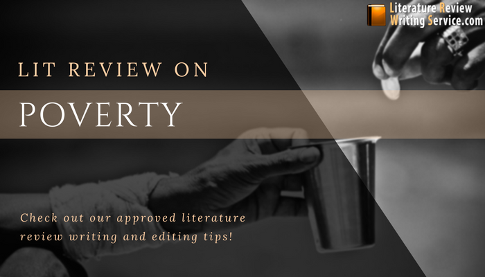 professional help with literature review on poverty
