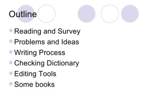Useful Tips For Outline For Literature Review