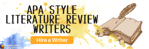 apa style literature review writers