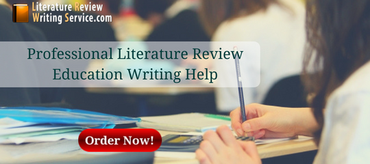 professional literature review education writing help