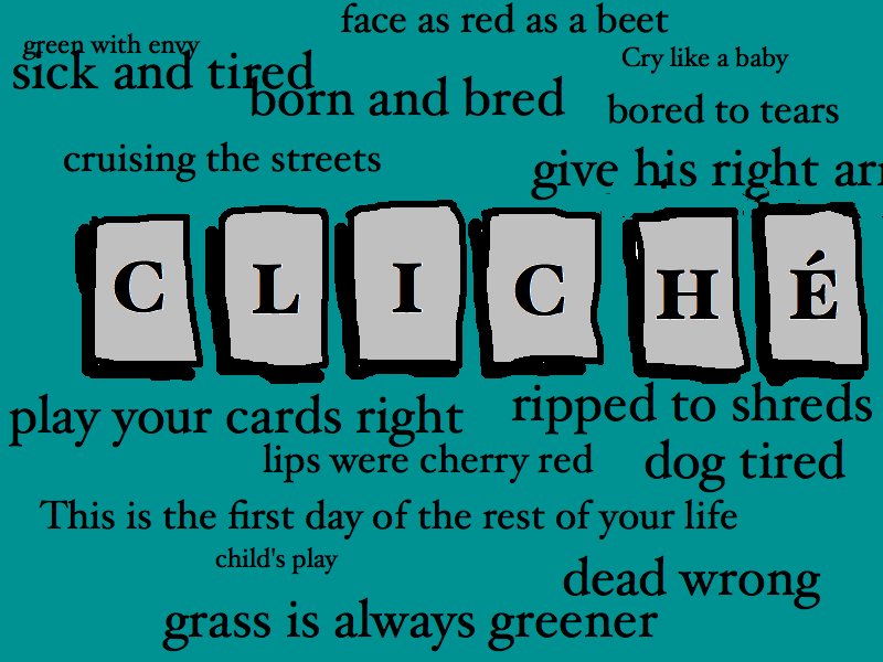 common cliches to avoid in writing