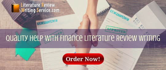 quality help with finance literature review writing