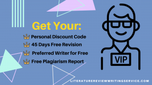 literature review writing service vip club