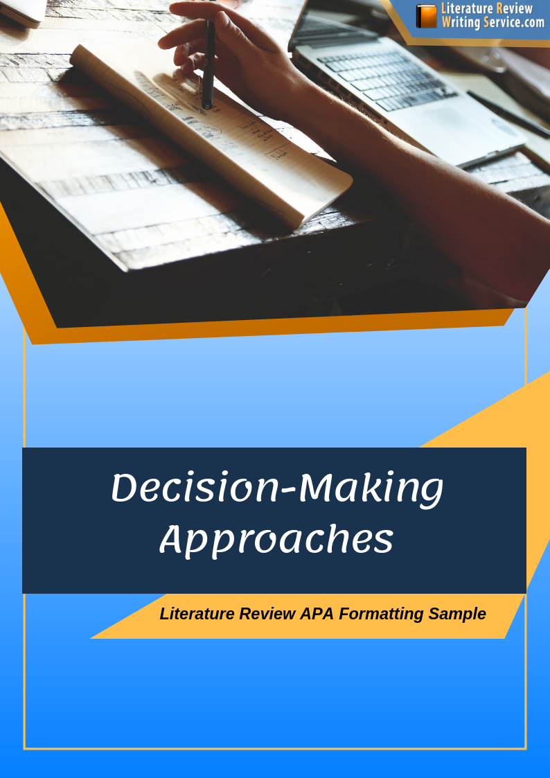 free literature review sample apa 6th edition