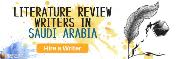 expert literature review writer in saudi arabia