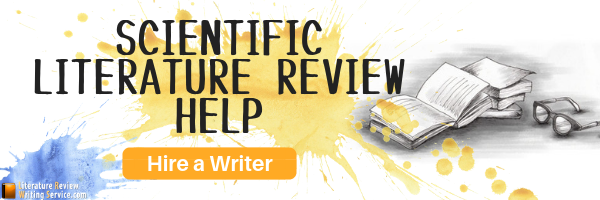 how to write a scientific literature review help