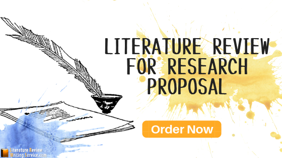 literature review for research proposal writer